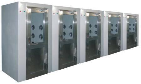 空气浴尘室的改良装置